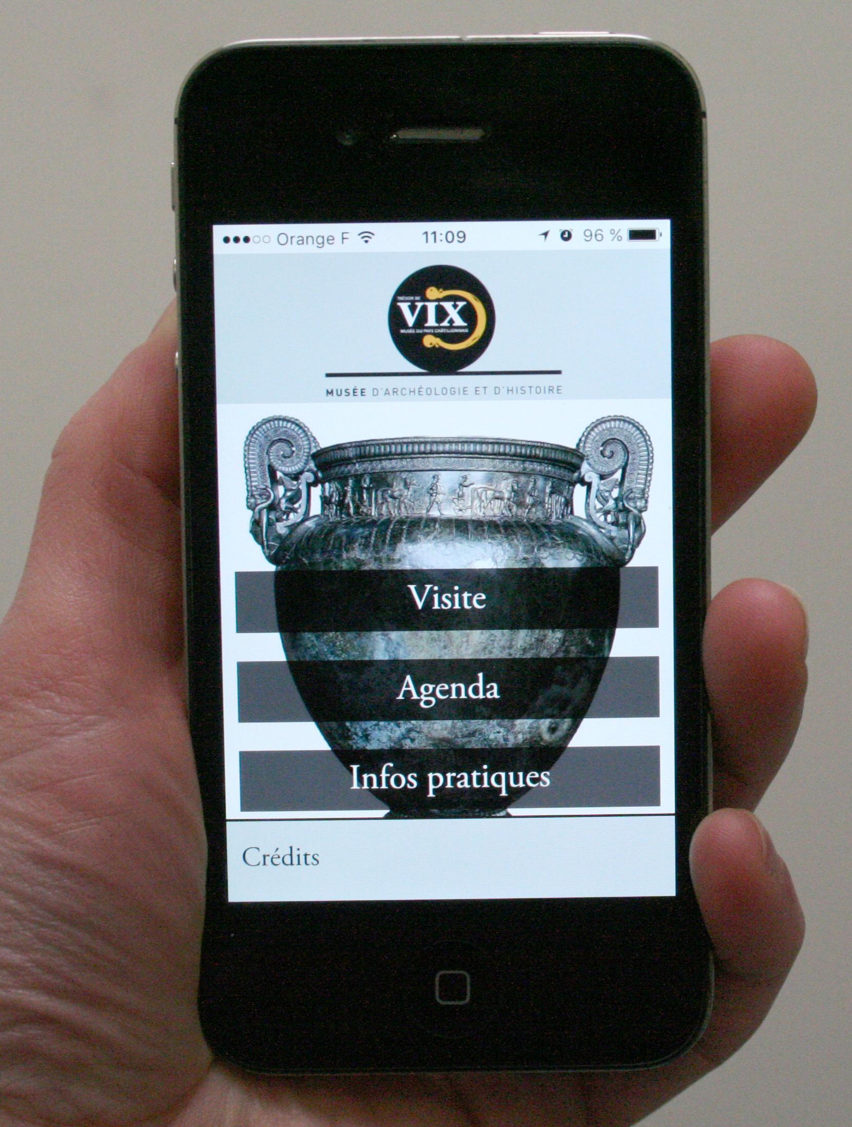 Application Trésor de Vix
