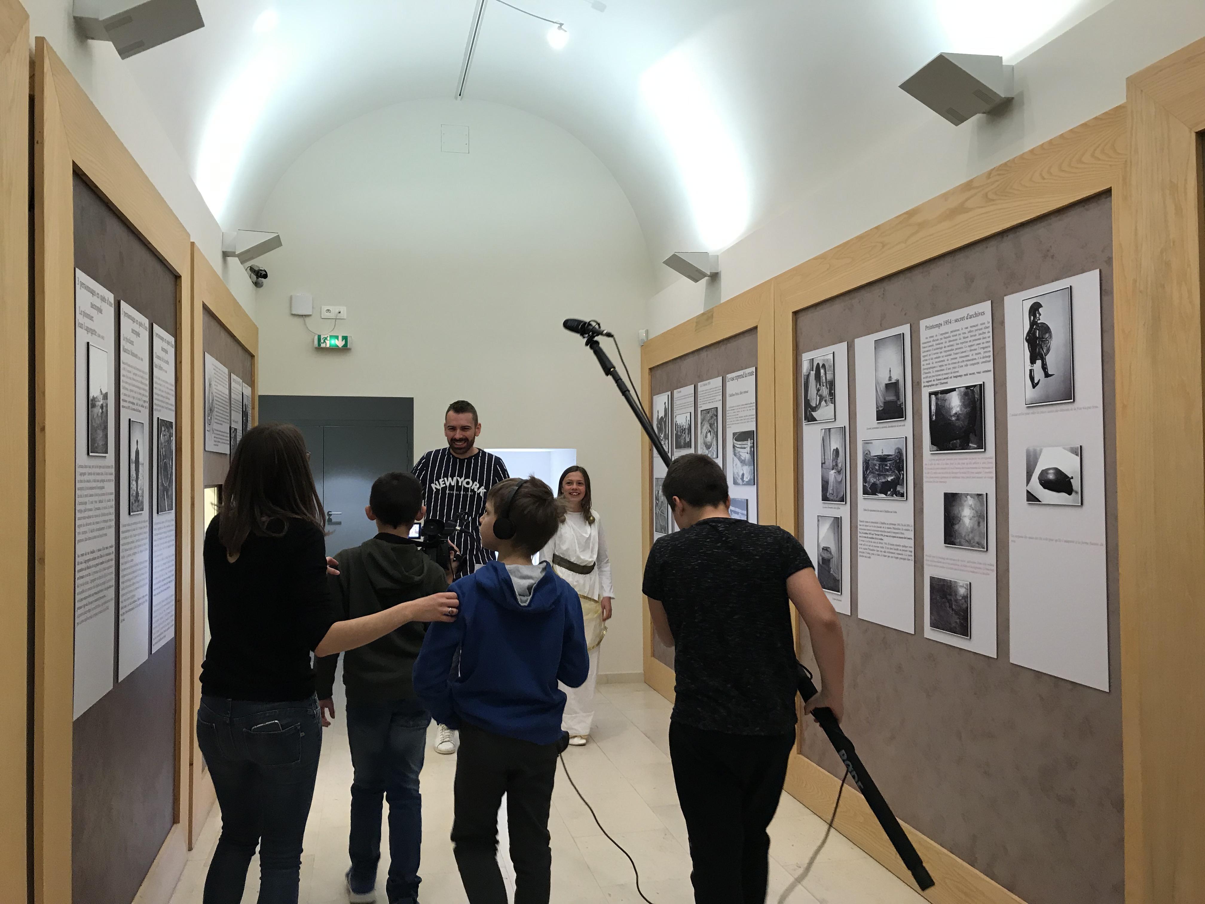 Court-métrage Archéo Vix : un collège enquête
