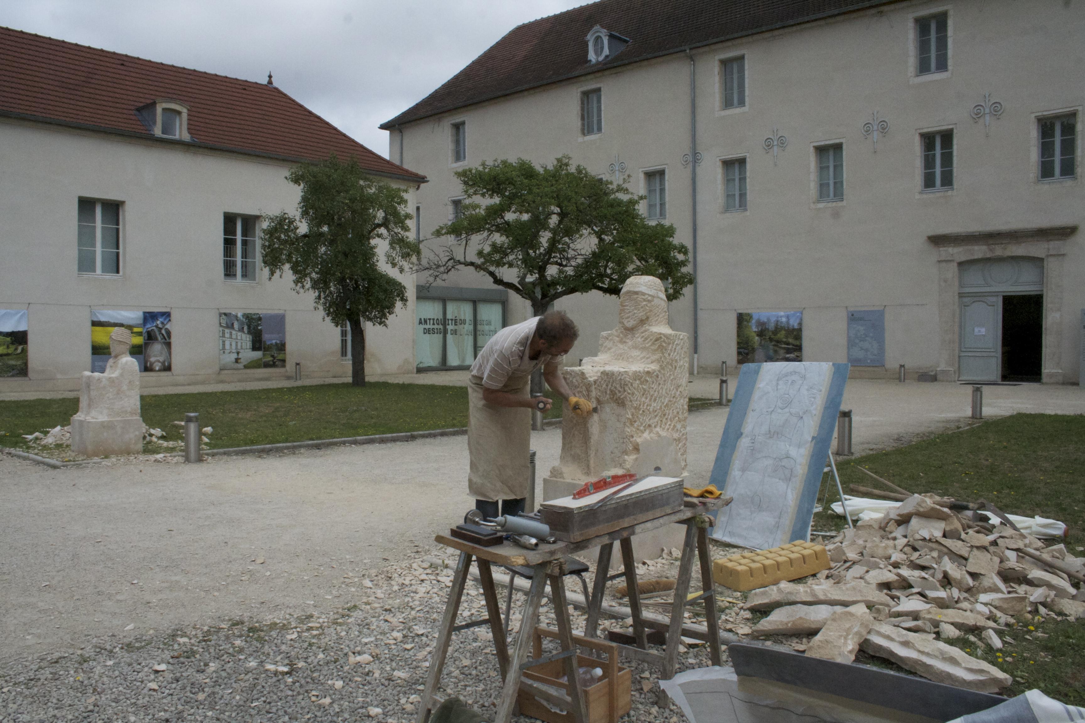 Eric de Laclos, sculpteur