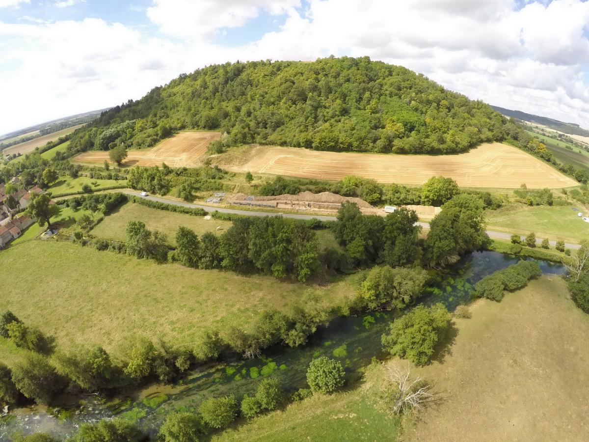 Mont Lasois, fouille du rempart 11