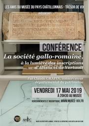 Conférence La société gallo-romaine