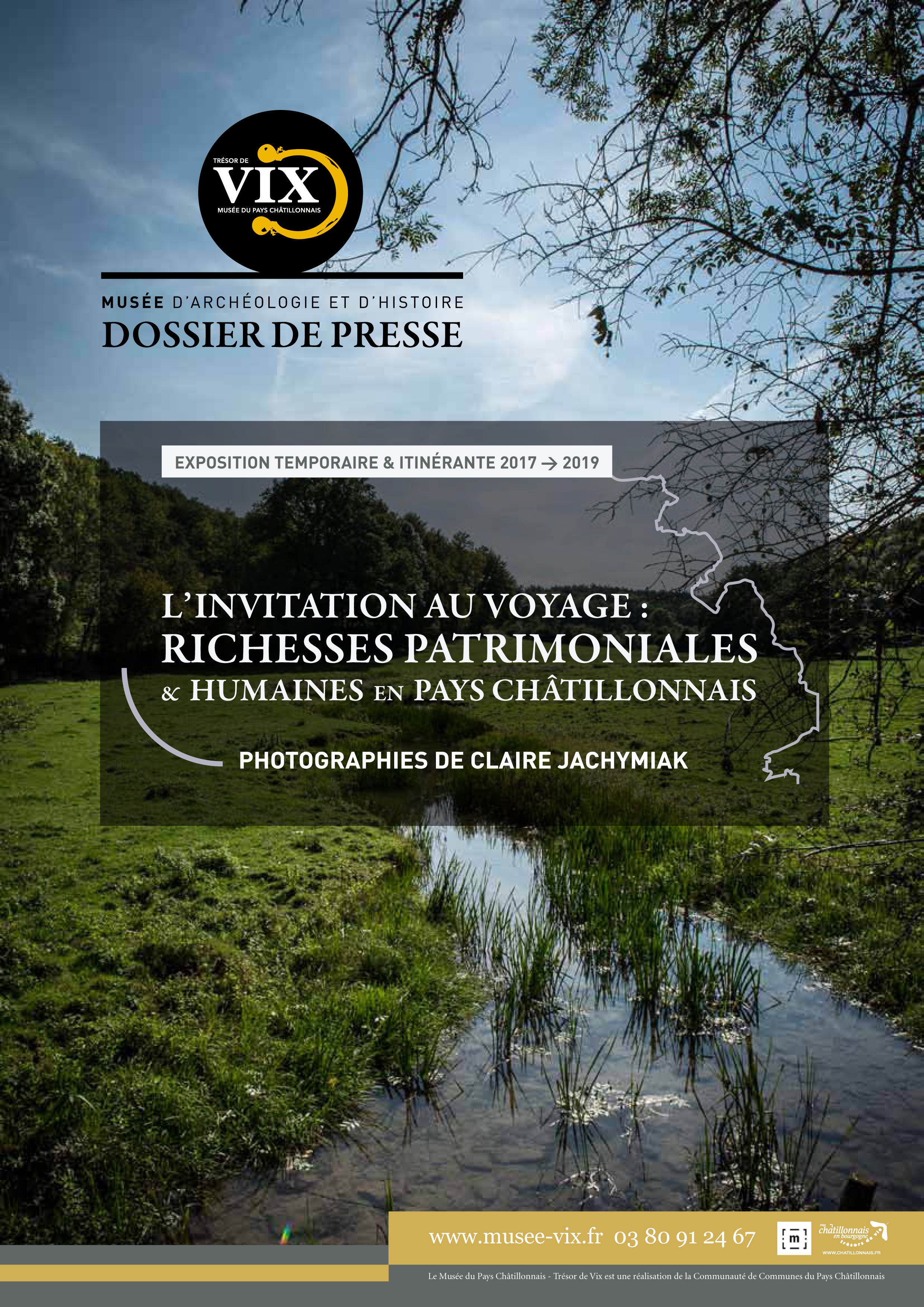 Dossier de presse exposition L'INVITATION AU VOYAGE : RICHESSES PATRIMONIALES ET HUMAINES EN PAYS CHÂTILLONNAIS