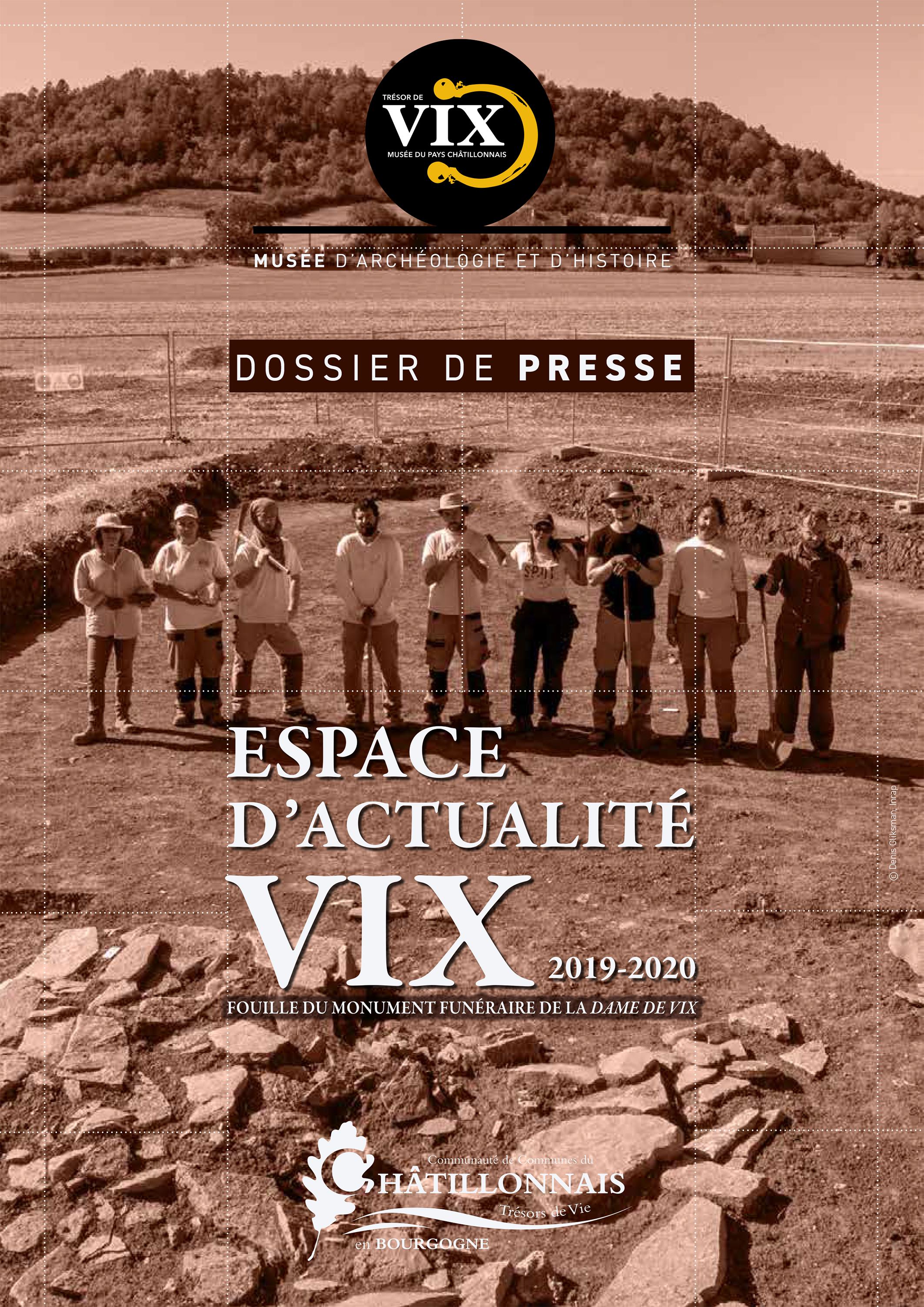 Dossier de presse_espace d'actualité_Fouille du monument funéraire de la Dame de Vix © Nathalie Montenot