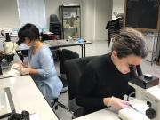 À la recherche de matières organiques sur les objets de la tombe de Vix